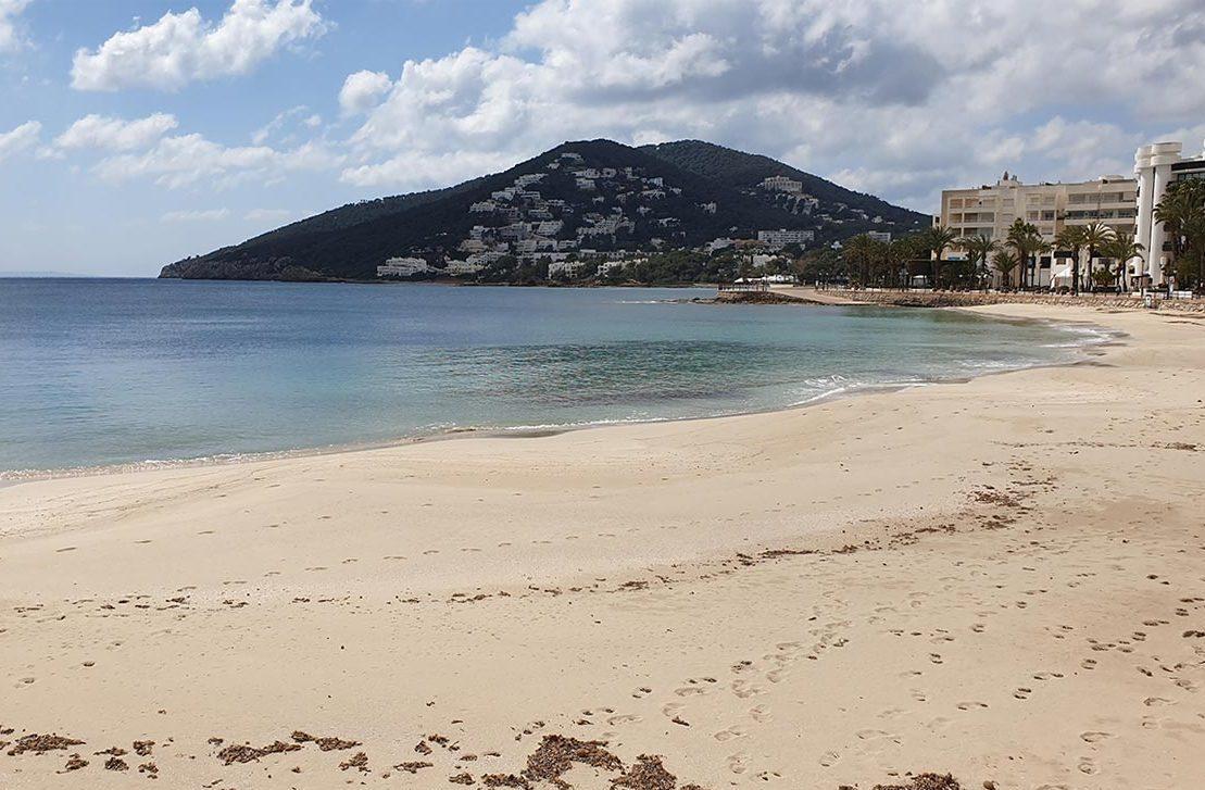 Playa Santa Eulalia Ibiza